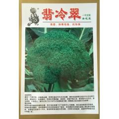 香港惟勤 翡冷翠青花菜种子 中晚熟品种 单球重450克左右 不易空心 西兰花种子 10克装